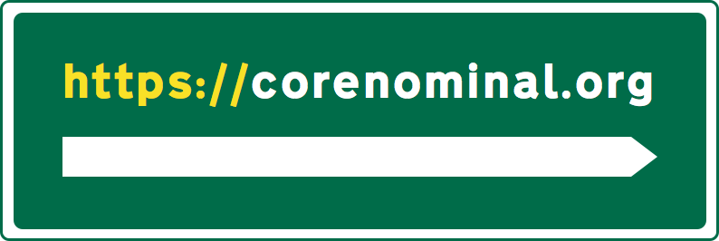 A mockup of a road sign using the Transport New font.