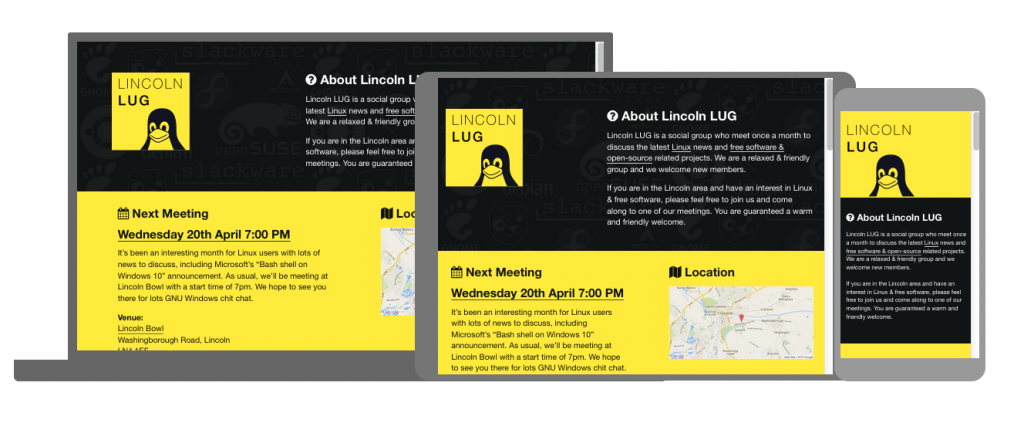 Lincoln LUG Website